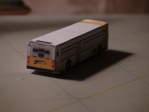 Fictional Paper Airport Bus