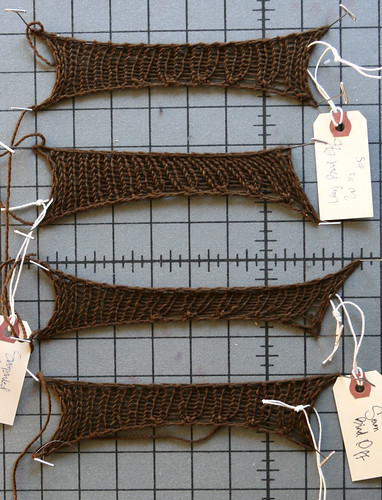 Stretchy Bind-Off Face-Off by you.