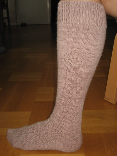 Side view - German Stocking