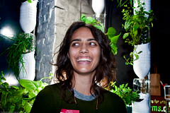 Maya Nayak with Window Farms by Britta Riley /...