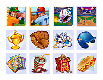 free King of Swing slot game symbols