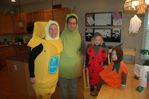 We're a fruity family