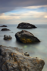 Three On-Line (DavidFrutos) Tags: longexposure blue sea costa seascape water azul landscape dawn coast mar interestingness agua rocks sony playa paisaje explore murcia filter nd alfa alpha 1020mm filters 700 rocas hoya filtro sigma1020mm cokin largaexposicin filtros nd400 densidad nd8 neutraldensity cabopalos p121s sonydslr densidadneutra interesantsimo davidfrutos 700 calaflores