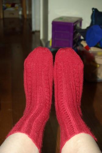 Caz's socks