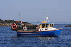 Brothers (DJ Burnzz) Tags: boats fishing brothers pots lobster lobsters shetland creel creels whalsay