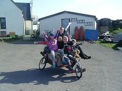 Eco Drama workshop armchair bike (isleofeigg) Tags: isle eigg
