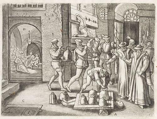Persecutiones adversus Catholicos à Protestantibus Caluinistis excitae in Anglia c