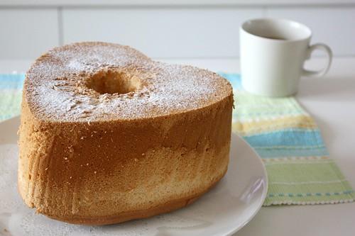 蜂蜜黃金戚風蛋糕