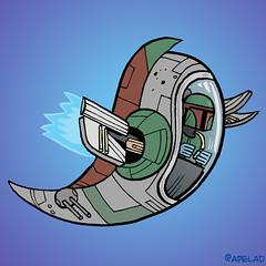 Boba Fett Twitter Avatar