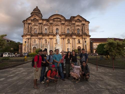 Taal Basilica of Saint Martin Group Hug