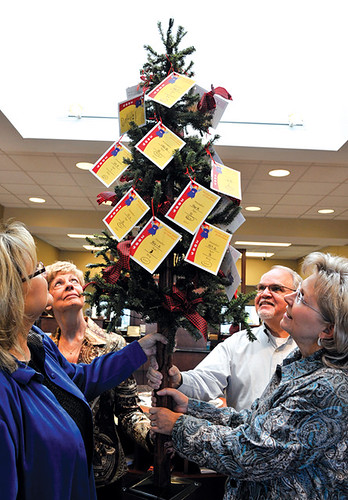 angels in need   angels representing needy children are on display
