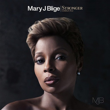 the one mary j blige album cover. mary j blige stronger with