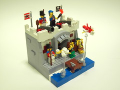 PTVII: A Common Enemy (DarthNick) Tags: 2 storm village lego pirates calm ii after ptv pillage brickarms foitsop