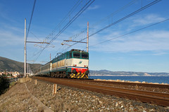 Trenitalia E656.492 (Maurizio Boi) Tags: railroad italy train rail railway locomotive treno trenitalia ferrovia locomotiva e656