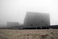 (Asier.) Tags: beach fog playa sansebastian niebla zurriola kursaal hondartza sonyalpha donsoti asierra behelainhoa