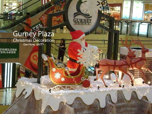 Gurney Plaza Christmas Decoration 1
