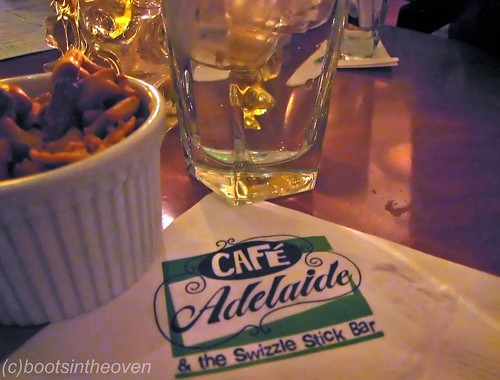Cafe Adelaide and the Swizzle Stick Bar