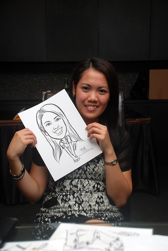 Caricature live sketching for Johnson & Johnson - 13