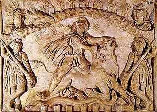 Mithras-Tauroctony