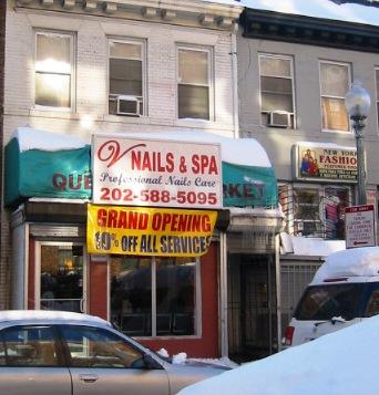 Nail Salon on Park Rd