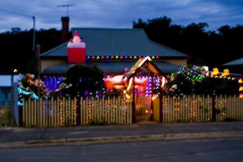 Lobethal lights