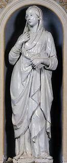 Andrea della Robbia, Annunciazione, 1475 ca., Siena, Osservanza