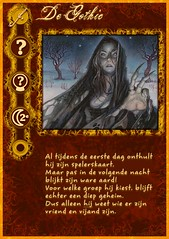 """De Gothic"" role card from my home-made Werewolf mega-set"