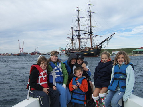 Group with HMS Bounty