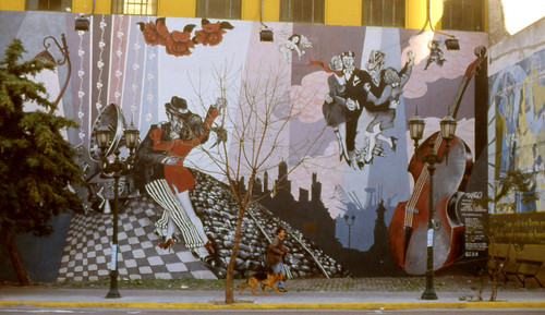 Buenos Aires Mural Tango by Simba tango, on Flickr