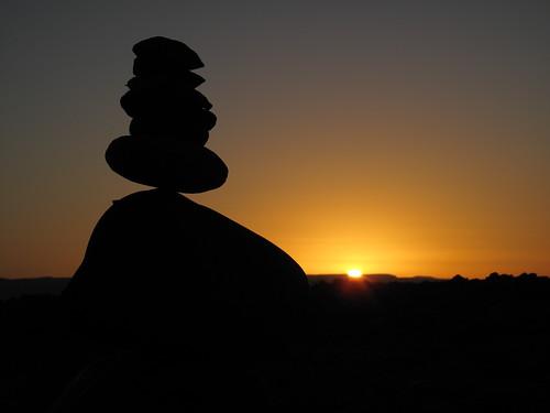 Rock365 : 02 01 2010 : Sandstone Cairn