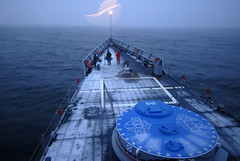 USS Boone Sailors drop anchor upon arriving in Punta Arenas, Chile (Official U.S. Navy Imagery) Tags: chile southamerica navy sailor usnavy puntaarenas straitofmagellan guidedmissilefrigate ussbooneffg28 southernseas2011