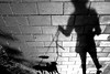 . (ngravity) Tags: street shadow bw woman dogs canon blackwhite shadows sweden stockholm candid streetphotography nocrop östermalm eos50d makrygiannakis