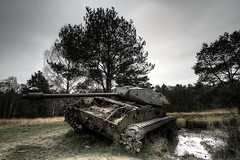 IMG_3988_89_90 (-DP-Photography-) Tags: urbex dpphotography abandoned lost place lostplace panzer tanks militär