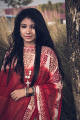 Some Beauty You Have To feel (Sayed Farabi) Tags: girl lady red pritty beauty portrait