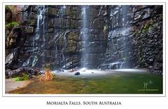 Pillars of light (Dylan Toh) Tags: nature landscape waterfall rocks first australia hike norton falls hills trail summit adelaide cascade southaustralia morialta waterscape the4elements 5dmkii southaustraliawaterfall