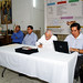 Mesa directiva de la Visita Pastoral