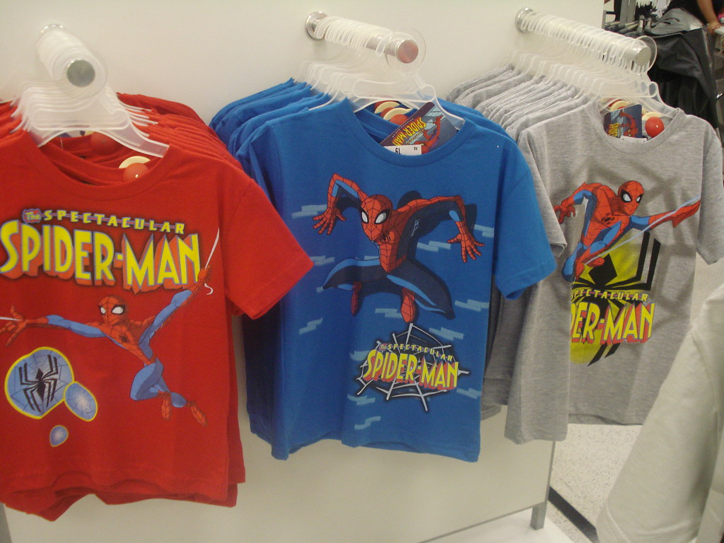Spectacular Spider-Man t-shirts