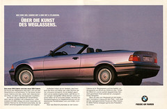 BMW E36 Convertible (1994) (jens.lilienthal) Tags: auto old classic cars car vintage print advertising media reclame ad convertible voiture historic advertisement advert older bmw oldtimer autos 1994 werbung cabrio reklame voitures cabriolet anzeige 3er e36 youngtimer e362