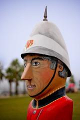 Band Master - Geelong Bollards (Scruba Images) Tags: ocean road sculpture art fun 50mm funny great victoria vic greatoceanroad bollard geelong