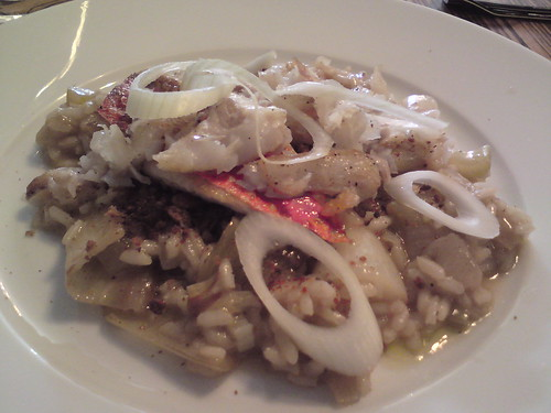 L'Office: Rouget risotto