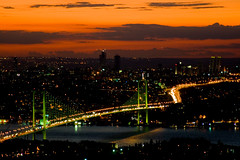 good night flickr:) (mevsim1) Tags: night istanbul boaz gece amlca