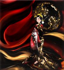 Sada:))<3 (Rebeca Bashly) Tags: beautiful secondlife geisha sensational creativephotography sadakosfrog musicsbest rebecabashly
