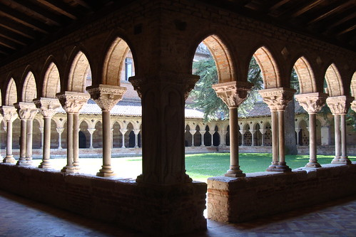 St. Pierre Abbey Cloister, Moissac, France