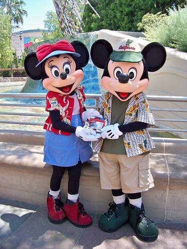 California Vacation Minnie and Mickey and Birney