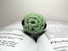 Crocheted Haploid Cell, a.k.a. sperm