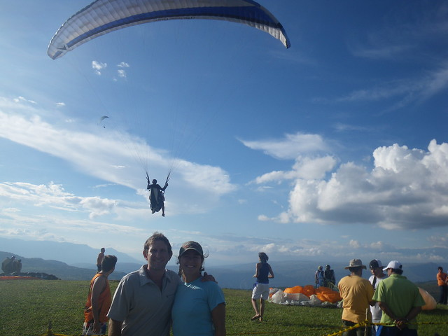Paragliding in San Gil, Colombia
