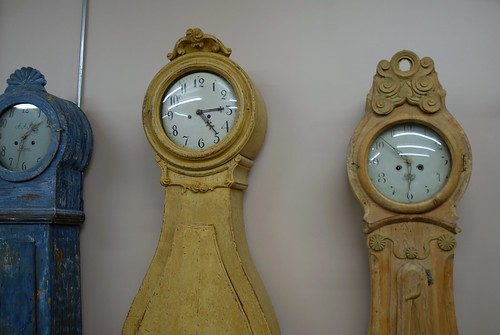 Swedish Clocks at Avolli in Scarbourgh, Maine