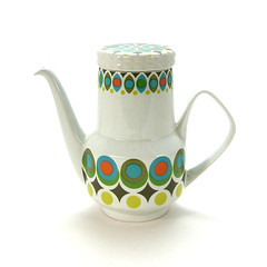 Mid-century modern coffeepot (Wooden donkey) Tags: ceramic mod porcelain modernist