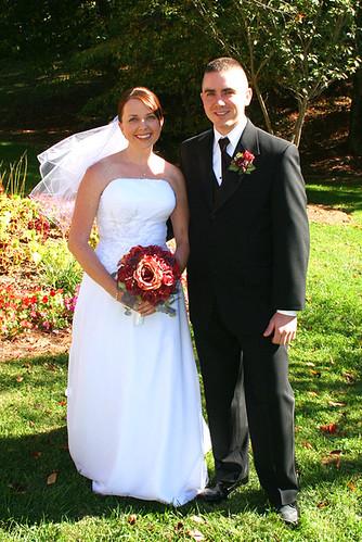bride & brother