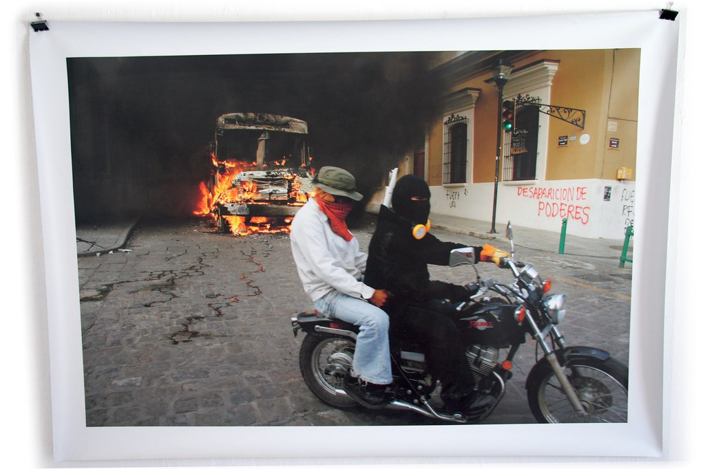 2006 Oaxaca Uprising on flickr